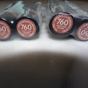 Rimmel Lipstick 760 Ain't No Other Lot of 4
